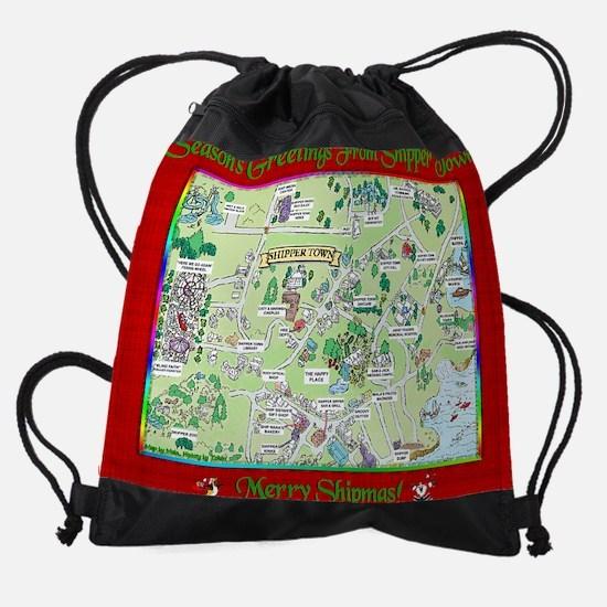 map calender.png Drawstring Bag