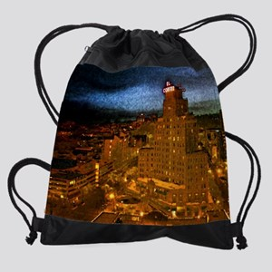 2-El Cortez - Print Drawstring Bag