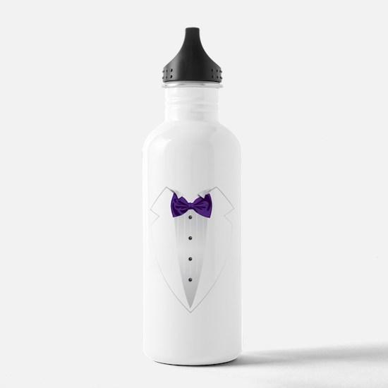 Tuxedo (violet) Water Bottle