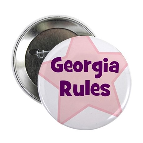 "Georgia Rules 2.25"" Button (10 pack)"