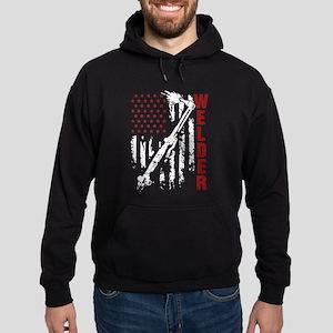 Welder Flag T-shirt Sweatshirt