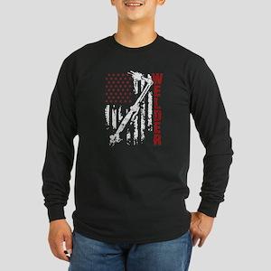 Welder Flag T-shirt Long Sleeve T-Shirt
