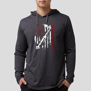 Welder Flag T-shirt Mens Hooded Shirt