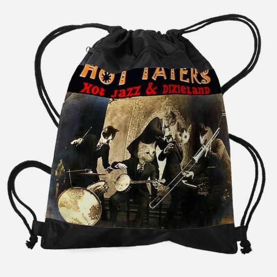 Hot Taters Cat Drawstring Bag
