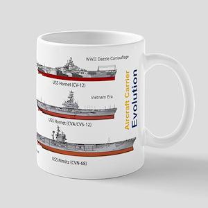 USS Nimitz CVN-68 and USS Hornet CV-12 Mug