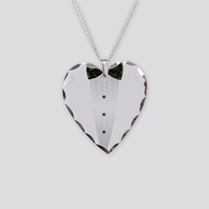 Tuxedo (woodland camo) Necklace