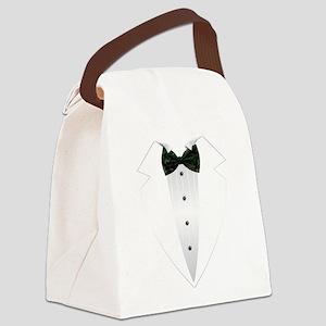 Tuxedo (woodland camo) Canvas Lunch Bag