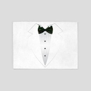 Tuxedo (woodland camo) 5'x7'Area Rug