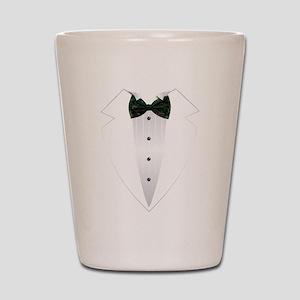 Tuxedo (woodland camo) Shot Glass