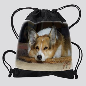 Welsh Corgi Pembroke 9R022-030_2.JP Drawstring Bag