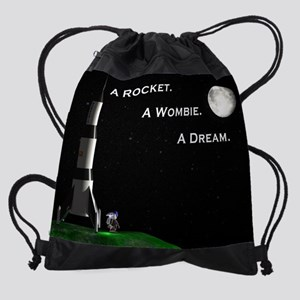 Moon Dreams 5a Drawstring Bag