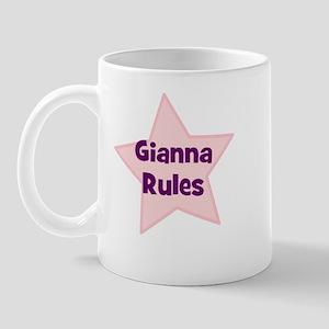 Gianna Rules Mug