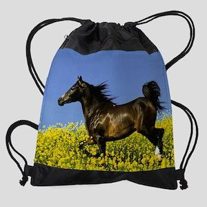 horse 1 11.5X9 Drawstring Bag