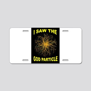 GOD PARTICLE Aluminum License Plate