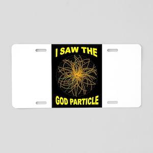 GOD PARTICLE Aluminum License Plate
