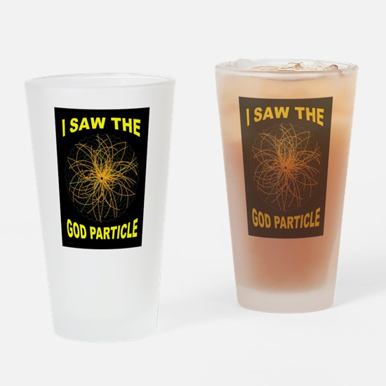 GOD PARTICLE Drinking Glass