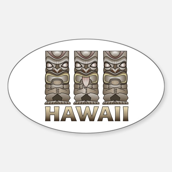 Hawaii Tiki Decal