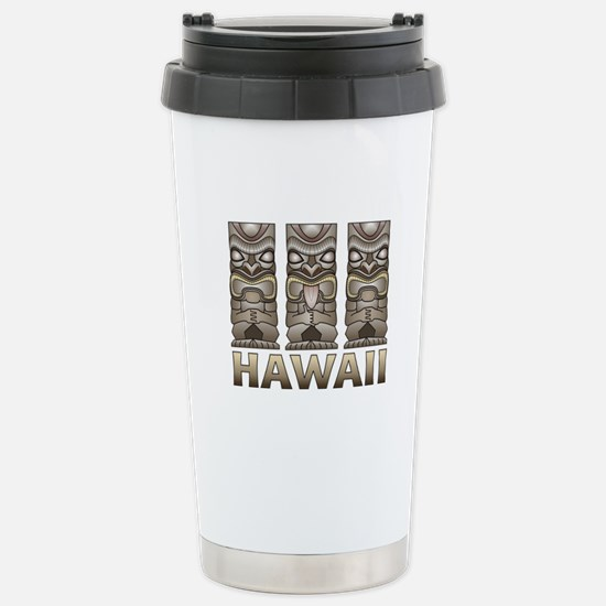 Hawaii Tiki Travel Mug