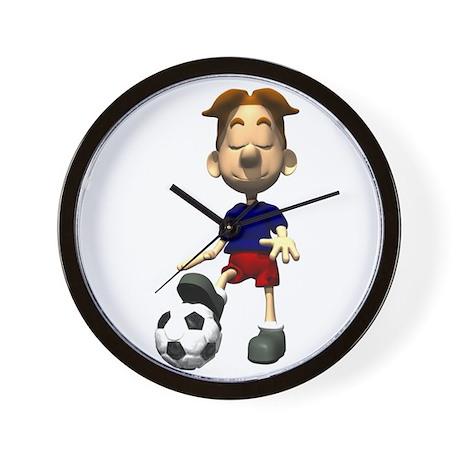 Soccer Boy Wall Clock