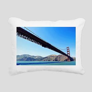 Golden Gate Rectangular Canvas Pillow