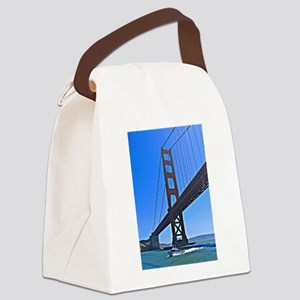 The Golden Gate Canvas Lunch Bag
