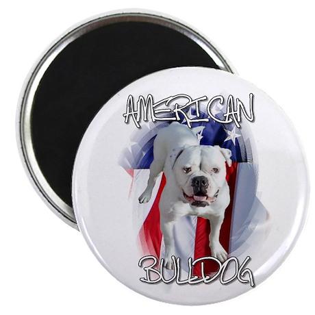 """American Bulldog 2.25"""" Magnet (100 pack)"""