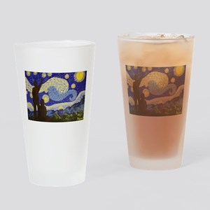 dr. Starry Night Drinking Glass