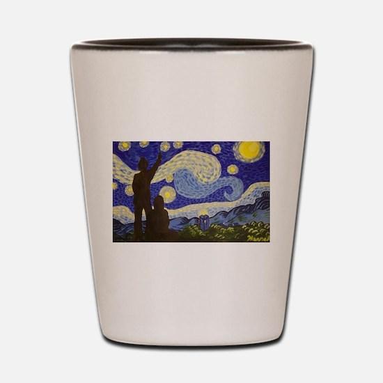dr. Starry Night Shot Glass