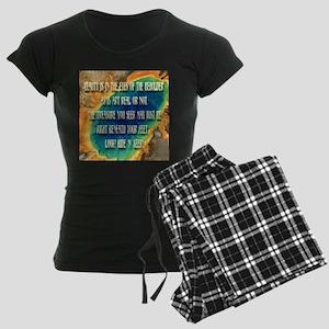 Treasure Hide 'n' Seek Women's Dark Pajamas