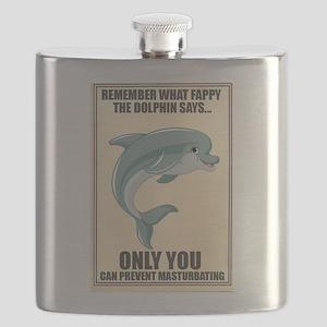 Fappy the Anti-Masturbation Dolphin Flask