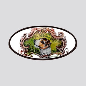 Jack Russell Terrier Portrait Patches