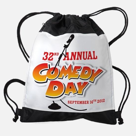 Comedy Day Drawstring Bag
