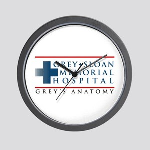 Grey Sloan Memorial Hospital Wall Clock