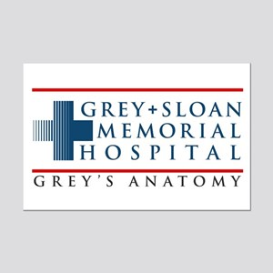 Grey Sloan Memorial Hospital Mini Poster Print