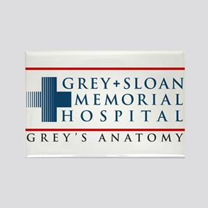 Grey Sloan Memorial Hospital Rectangle Magnet