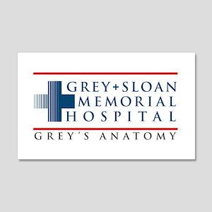 Grey Sloan Memorial Hospital 22x14 Wall Peel