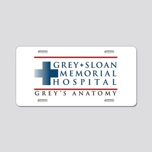 Grey Sloan Memorial Hospital Aluminum License Plat