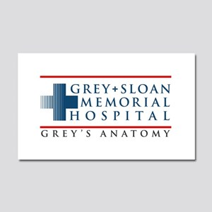 Grey Sloan Memorial Hospital Car Magnet 20 x 12