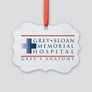 Grey Sloan Memorial Hospital Picture Ornament