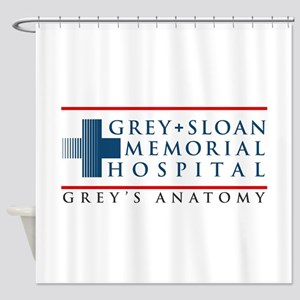 Grey Sloan Memorial Hospital Shower Curtain