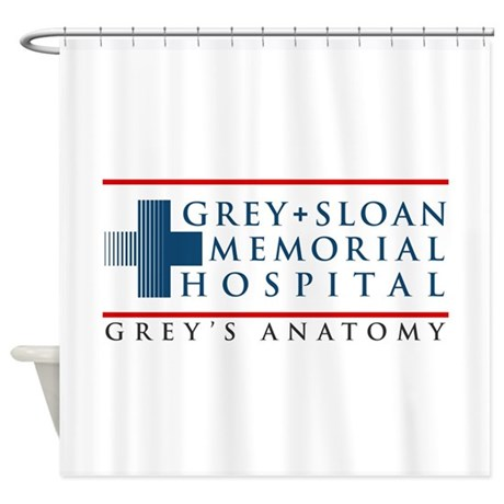 Incroyable Grey Sloan Memorial Hospital Shower Curtain