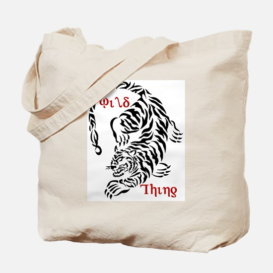 Wild Thing Tiger Tote Bag