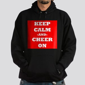 Keep Calm And Cheer On (Red) Hoodie