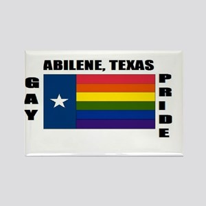 Abilene, Texas Rectangle Magnet