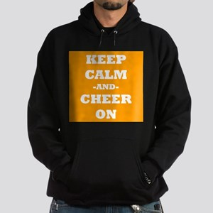 Keep Calm And Cheer On (Orange) Hoodie