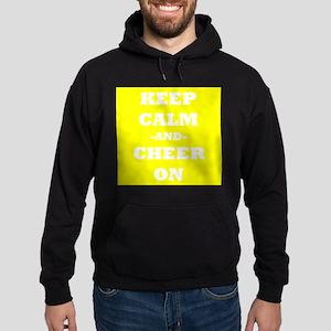 Keep Calm And Cheer On (Yellow) Hoodie