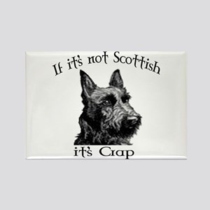 NOT SCOTTISH IT'S CRAP #2 Rectangle Magnet
