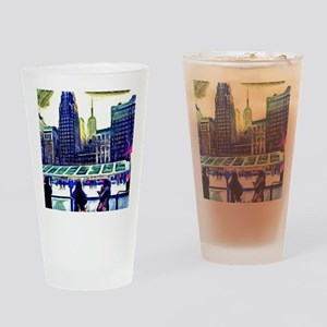 City Life Drinking Glass