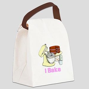 I bake Canvas Lunch Bag