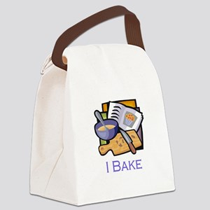 i bake board Canvas Lunch Bag